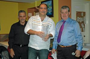 Ino Canto, José Carreira y José Pérez.