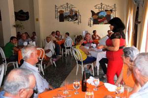 En el acto intervino la presidenta de la Agrupación, Aurora Ortiz Esquivel.