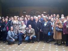 Participantes en la celebración.