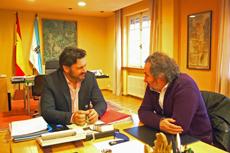 Antonio Rodríguez Miranda e Ignacio Vilar.