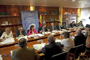 Reunión del Consejo de la Emigración de Castilla y León.