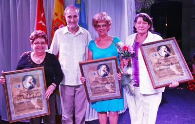 Regla Martínez, Juan Francisco Montalbán, Mª Lidia Amago y Mª Asunción Álvarez.