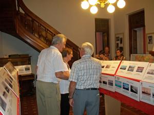 Vista de la exposición en el espacio cultural 'La Dama'.