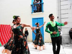 El Grupo Añoranza Zamorana en plena actuación.