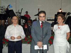 Intervención del presidente de la entidad, Carlos Fernández.