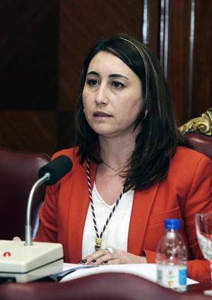 La nueva presidenta de la Diputación de Palencia, Ana María Asenjo.