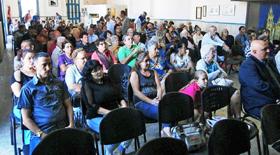 Al primer encuentro del año asistieron unas cuatrocientas personas.