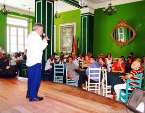 Edel Morales presentó el evento.