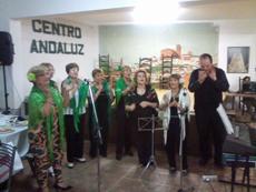 La fiesta por el Día de Andalucía en el Centro Andaluz de Mendoza.
