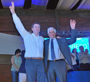 Alberto Núñez Feijóo y Constantino Mato.