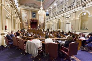 Intervención de Paulino Rivero en el debate sobre el estado de la nacionalidad canaria.