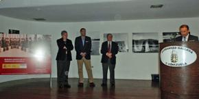 El consejero de Empleo, Juan Santana, inició el acto de inauguración.