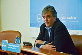 El portavoz del PP, Pedro Puy.