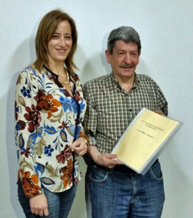 Eva Mª Foncubierta y Celso Domínguez.