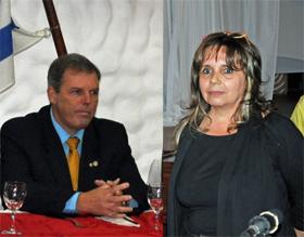 Jorge Torres e Inmaculada Cedrés.