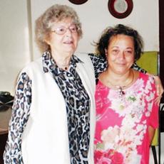 Carmen Almodóvar y Yeny Leyva.