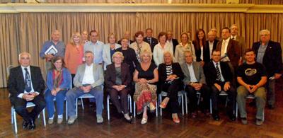 Directivos y delegados de la FIEU.