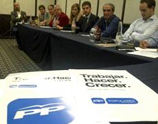 Reunión de trabajo del PP de México.