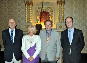 Manuel Fairén, Rosita Lladó, Jorge Torres y Juan Lugo.