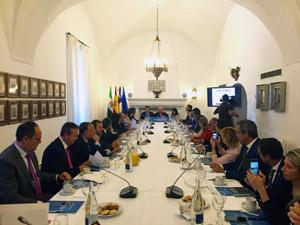 Una imagen del encuentro empresarial 'Chile, un socio a largo plazo'.