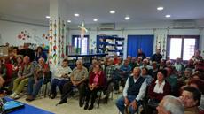 Reunión celebrada en Puebla de Guzmán.