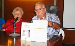 Manuel Barros en el acto de 'Hijos del Ayuntamiento de La Estrada'.