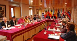 Sesión de apertura de la reunión de la Comisión Delegada.