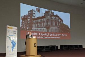 Intervención del representante del Hospital Español de Buenos Aires.