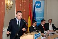 Intervención de Alfredo Prada en el 4º Congreso del PP en Bélgica.