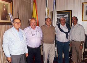 José González, Héctor H. Henry, Román Nogueira, Gumersindo Novoa y Pedro Mirás.