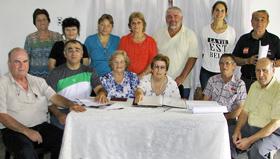 Comisión Directiva de la Asociación Española de Quitilipi.