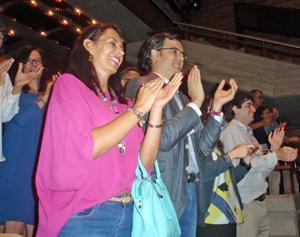 Entre el público, Moisés Morera, consejero cultural de la embajada de España.