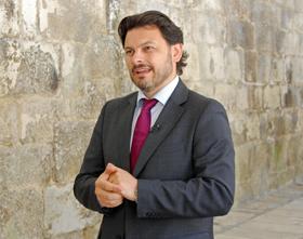 El secretario da Emigración de la Xunta, Antonio Rodríguez Miranda.