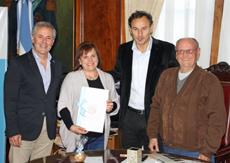 Carlos Santos Valle, María del Pilar Gil Hernández, Pablo Bruera, José Ortega.