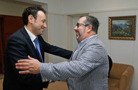 Guillermo Martínez y Ramón Trespalacios.