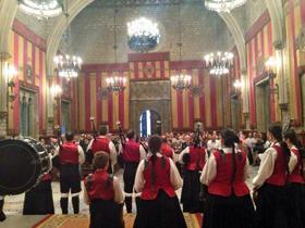Acto celebrado en el Ayuntamiento de Barcelona.