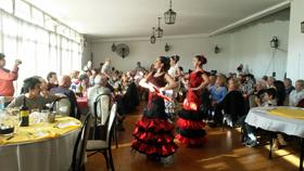 El Ballet Casa de España en plena actuación.