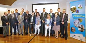 Los patronos de la asociación Compromiso Asturias XXI.