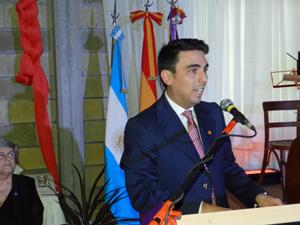 Juan Manuel Gomila es uno de los presidentes más jóvenes de entidades españolas en Argentina.