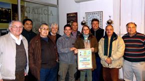 Directivos de la Liga Española de Deportes de Uruguay presentaron el campeonato de fútbol.