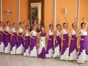 Cuerpo de baile del CeCABA.