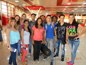 Profesores y monitores de escuelas de baile de varias entidades gallegas en Cuba asistían a los Talleres del Programa Escolas abertas en su edición de 2015.