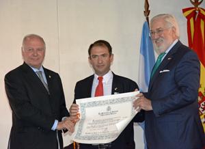 Guillermo Jenefes, Pedro Oller Fernández y Estanislao de Grandes Pascual.