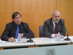 Los consellers Thomàs y Moragues.