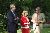 Alfonso Rueda, Ana Pastor y el embajador español en Venezuela, Dámaso de Lario.