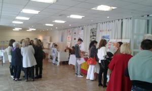 La muestra educativa se desarrolló en el Centro Cultural Municipal Sociedades Española de Casbas con gran éxito de público.