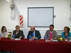 Rodolfo Asensio, Carlos Tercero y Leandro Pavón en la apertura de las jornadas.