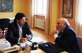 Antonio Rodríguez Miranda y Humberto Campos Peso.