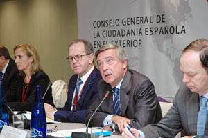 Intervención ante el Pleno del CGCEE del subsecretario de Asuntos Exteriores, Cristóbal González-Aller.