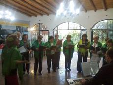 Actuación del Coro Rociero